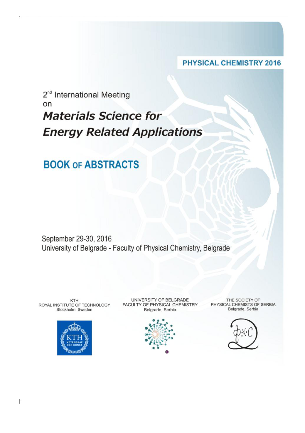 Materials 2016 - Book of Abstracts